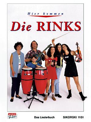 Hier kommen die Rinks – Liederbuch