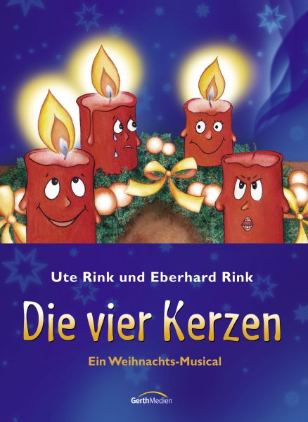 Die vier Kerzen – Liederbuch